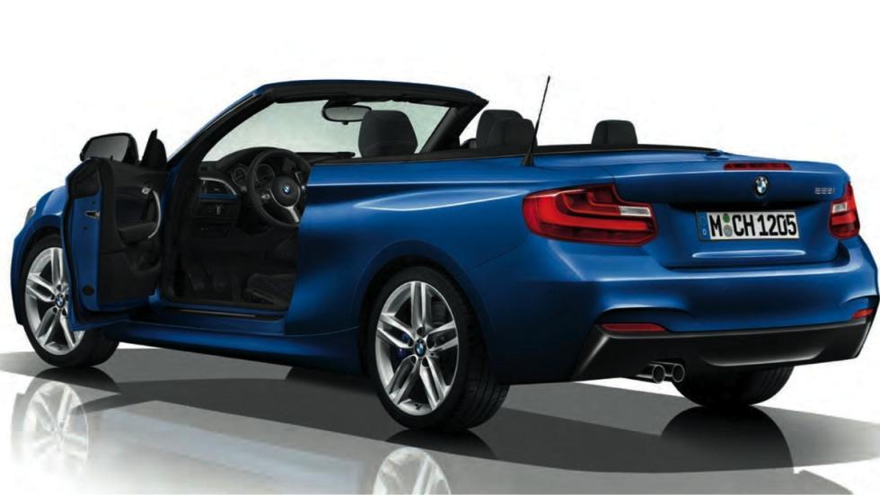 BMW Serie 2 Cabrio M Sport trasera