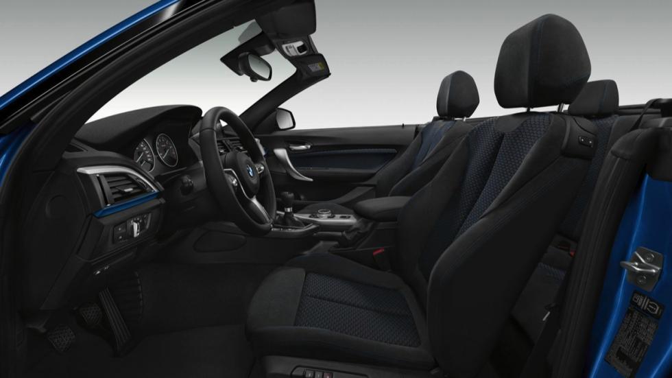 BMW Serie 2 Cabrio M Sport asientos