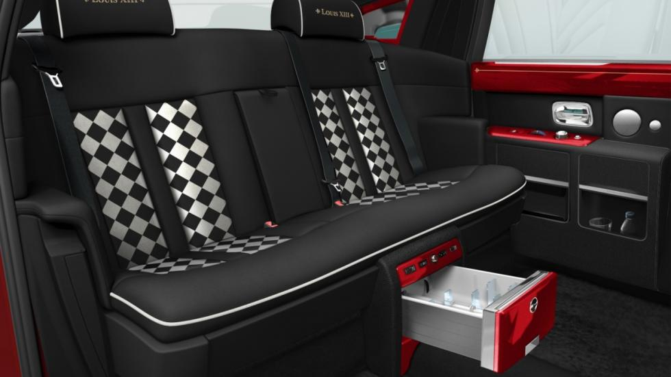 30 Rolls-Royce Phantom para un super hotel de Macao, habitáculo