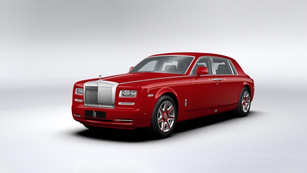 30 Rolls-Royce Phantom para un super hotel de Macao, de color rojo dragón