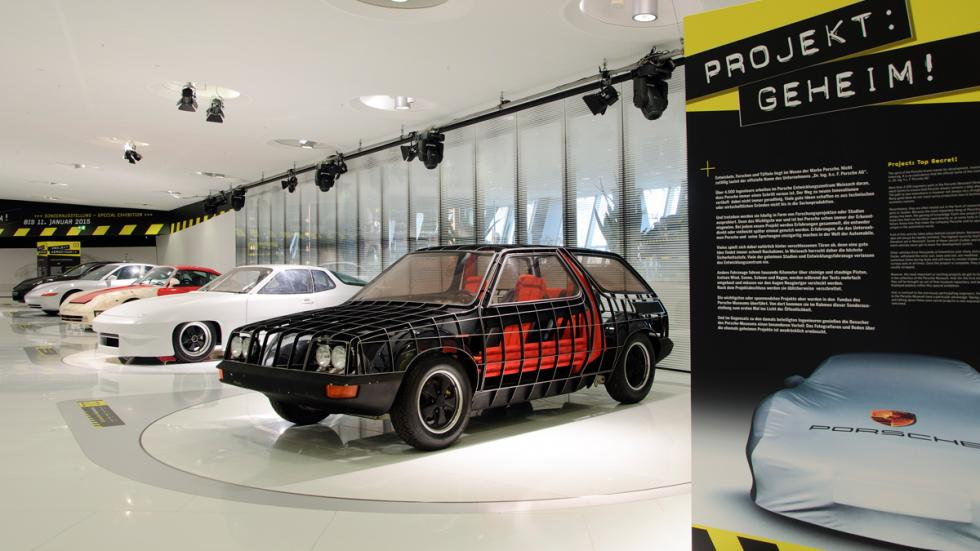 Exhibición Porsche 'Project: Top Secret' foto 1