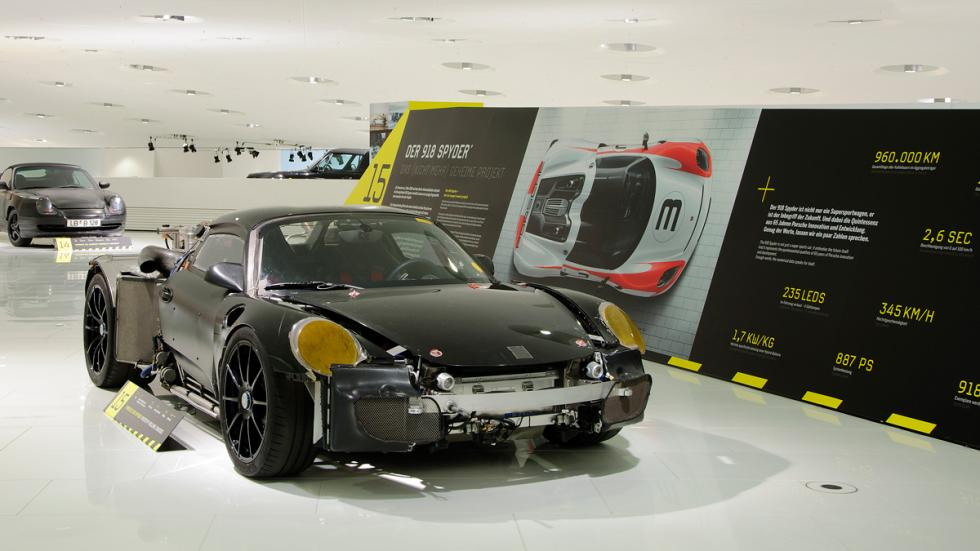 Exhibición Porsche 'Project: Top Secret' foto 3