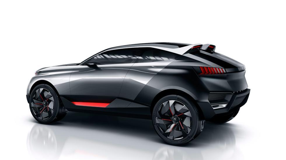 Concept Peugeot Quartz trasera