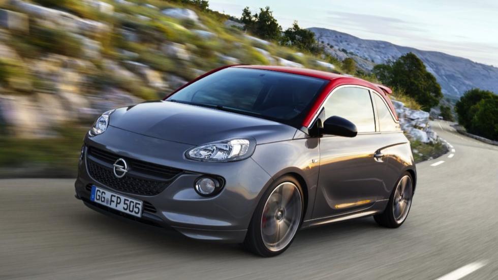 Delantera del Opel Adam S