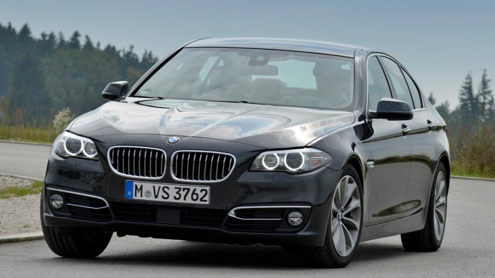 Nuevos BMW 518d y 520d delantera