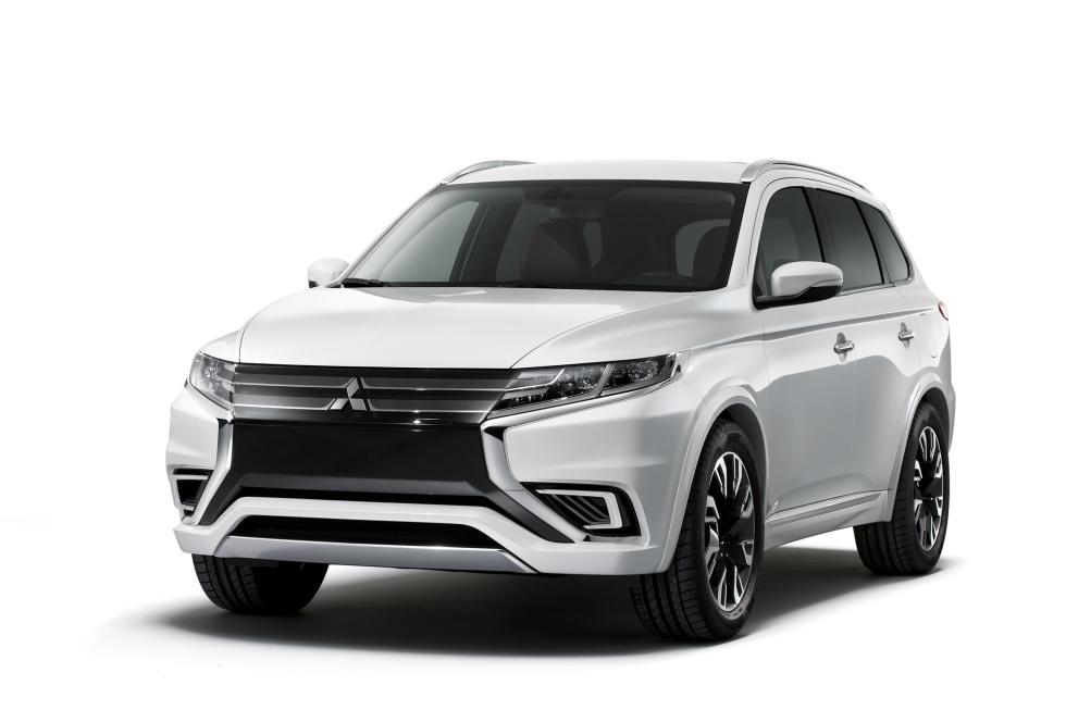 Mitsubishi Outlander Concept S delantera