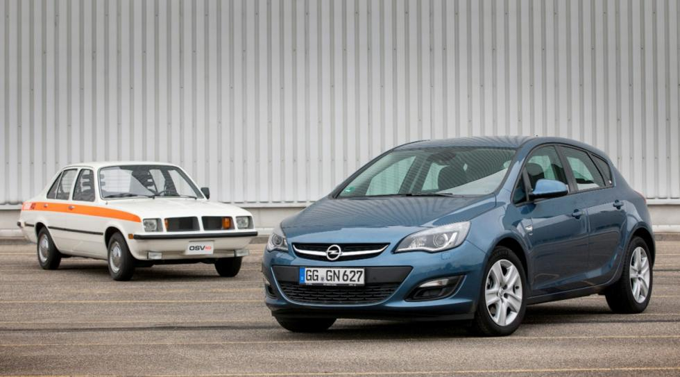 Opel OSV 40 y Astra