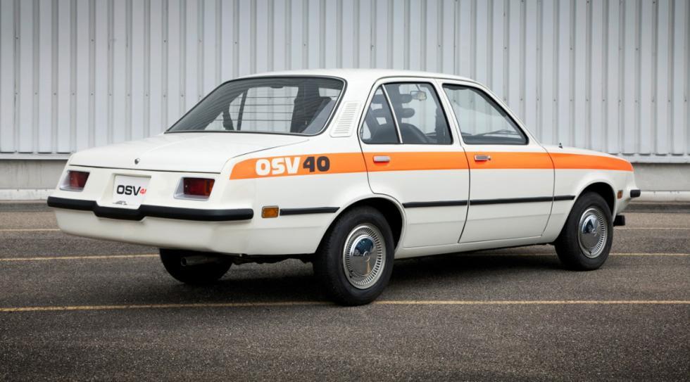 Opel OSV 40 trasera