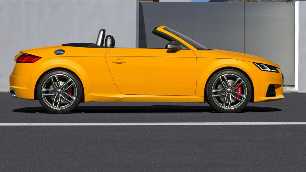 Audi TTS roadster 2015 lateral