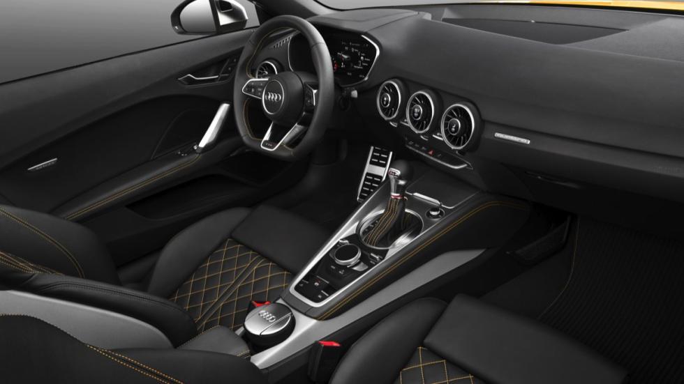 Audi TTS roadster 2015 asientos deportivos