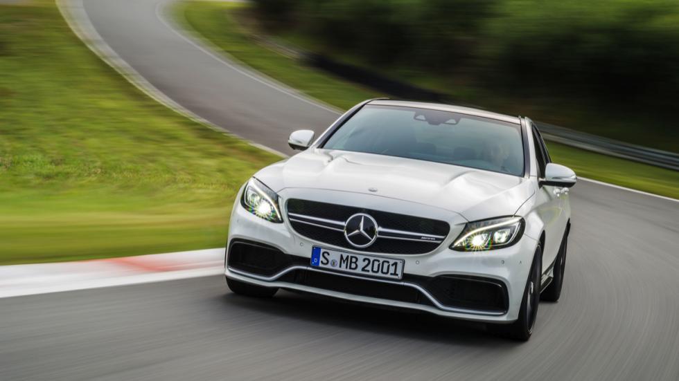 Nuevo Mercedes-AMG C63 2015 frontal