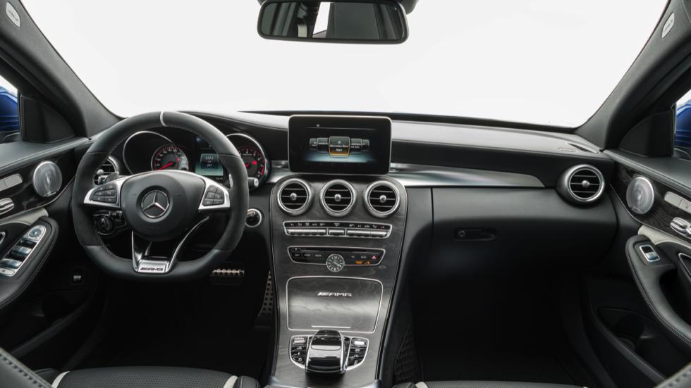 Nuevo Mercedes C 63 AMG 2015 interior