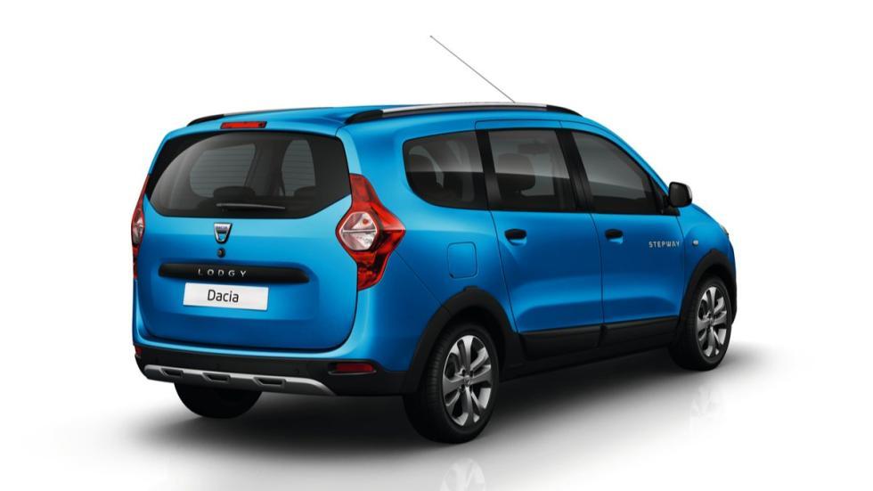 Dacia Lodgy Stepway trasera