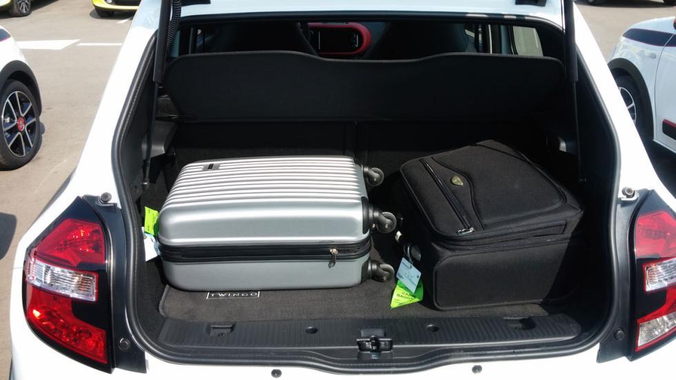 Renault Twingo 2015 maletero