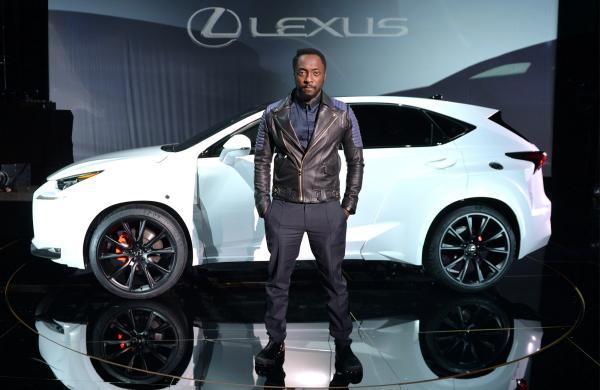 Lexus NX 300 de Will.i.am, lateral