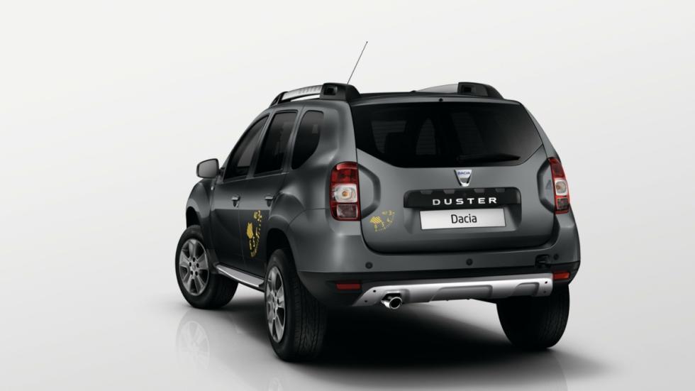 Dacia Duster Blackstorm zaga