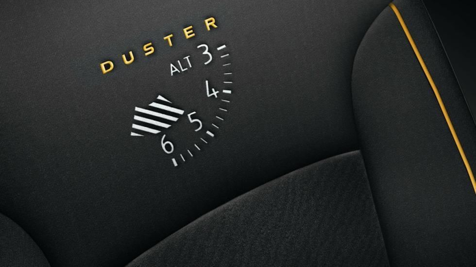 Dacia Duster Blackstorm detalle