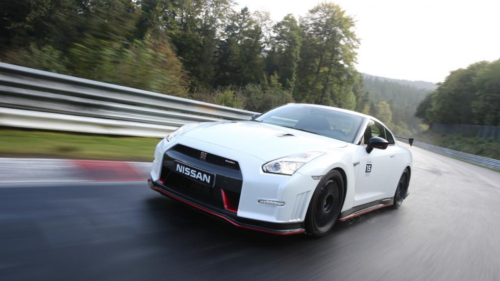 Nissan GTR Nismo Nurburgring frontal