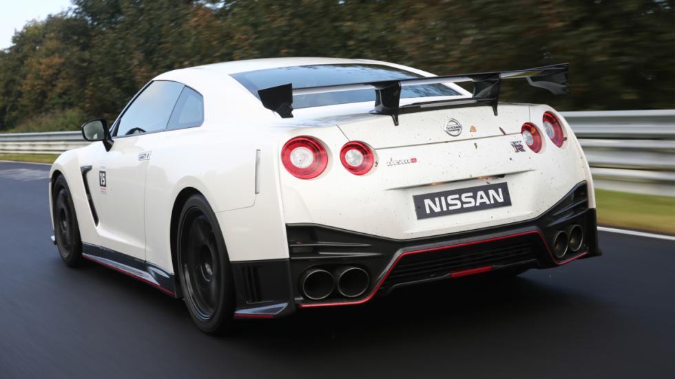 Nissan GTR Nismo Nurburgring trasera