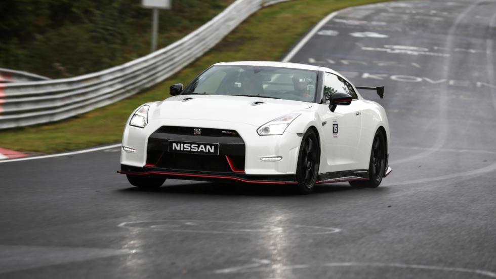 Nissan GTR Nismo Nurburgring delantera