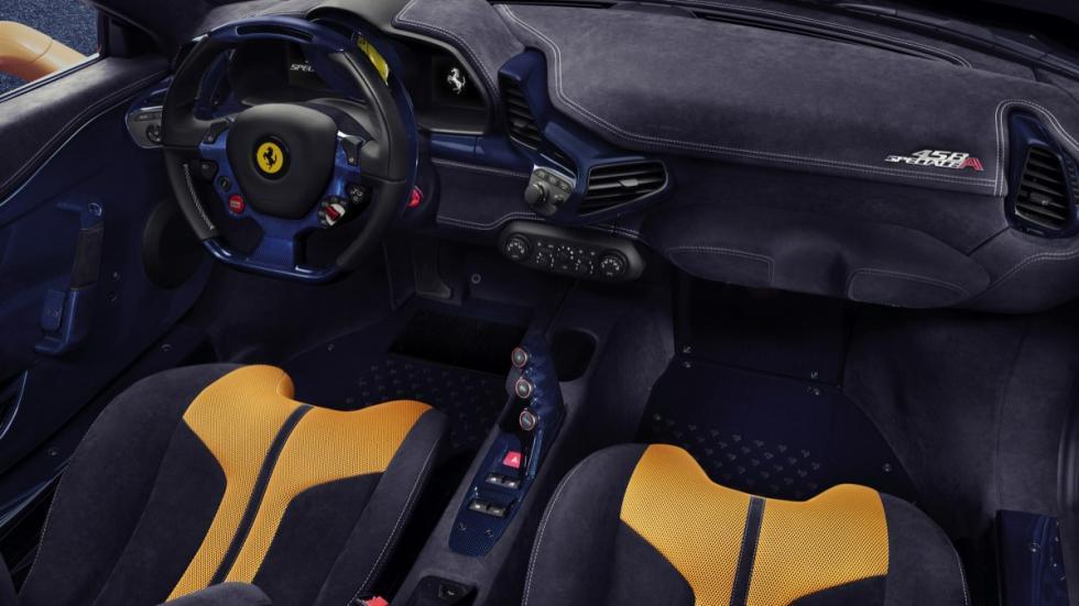 Ferrari 458 Speciale A asientos