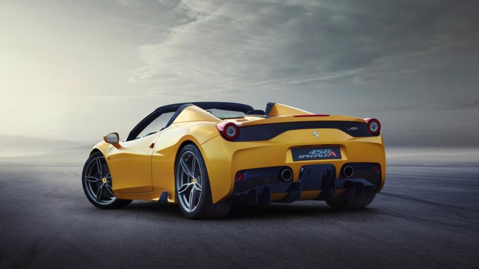 Ferrari 458 Speciale A trasera