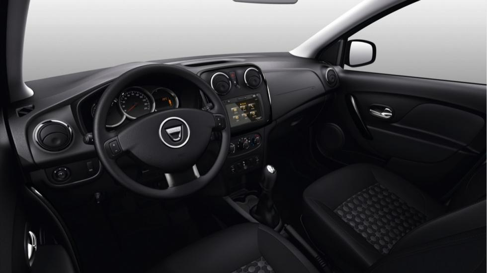 Dacia Sandero Black Touch interior
