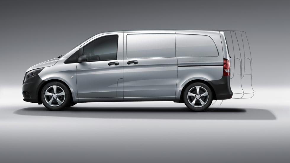 La Mercedes Vito 2015, disponible en tres longitudes diferentes