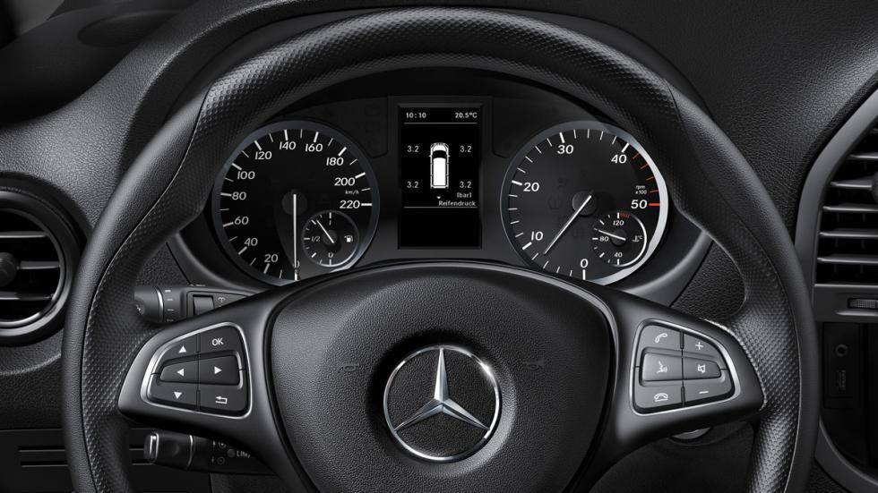 Mercedes Vito 2015, con una nueva dirección electromecánica
