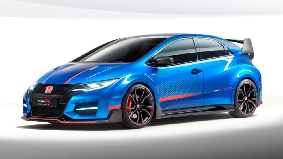Honda Civic Type R Concept II - Frontal