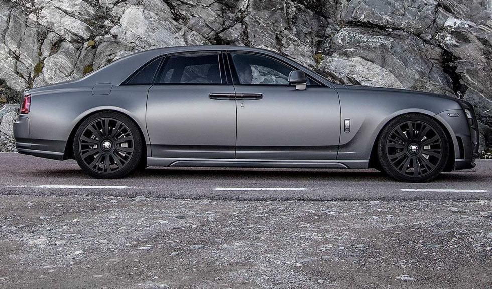 Rolls-Royce Ghost V-Spec lateral