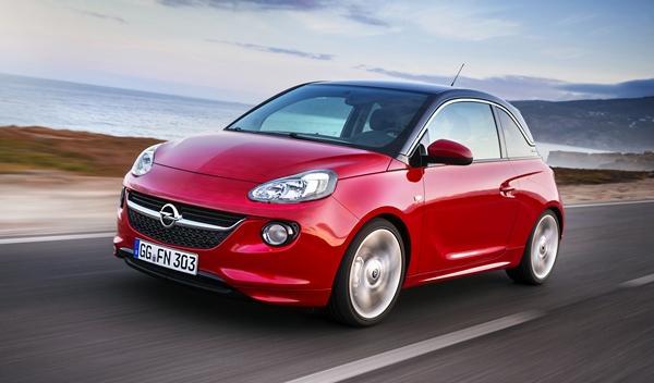 Opel Adam frontal derecha