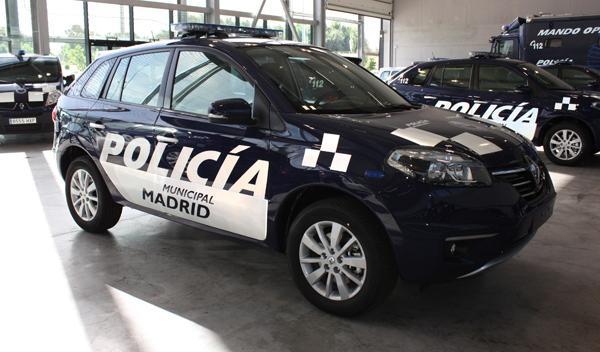 Nuevos coches Policía Municipal Madrid
