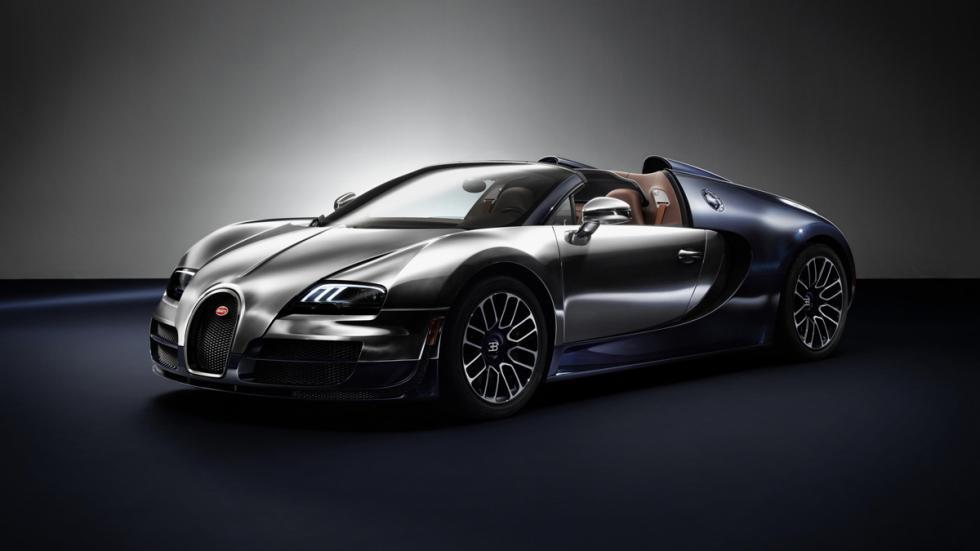 Vista lateral de Bugatti Veyron edición Ettore Bugatti