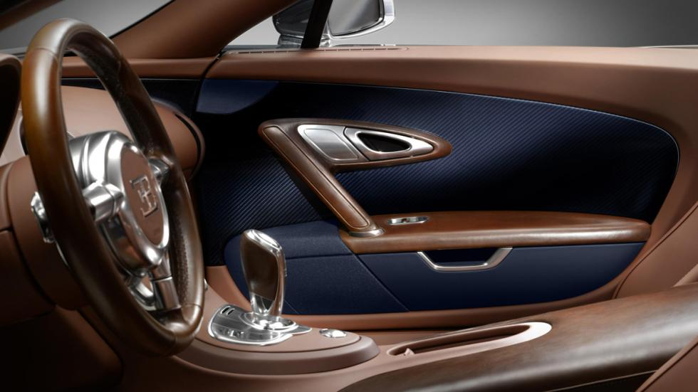 Interior del Bugatti Veyron Ettore Bugatti