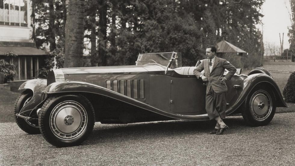Bugatti Type 42 Royale y Ettore Bugatti