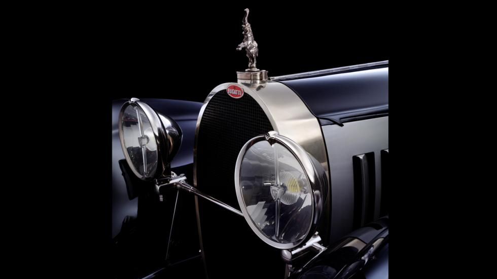 Frontal del Bugatti Type 41 Royale