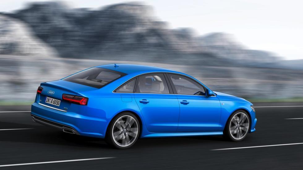 Trasera del Audi A6 2015