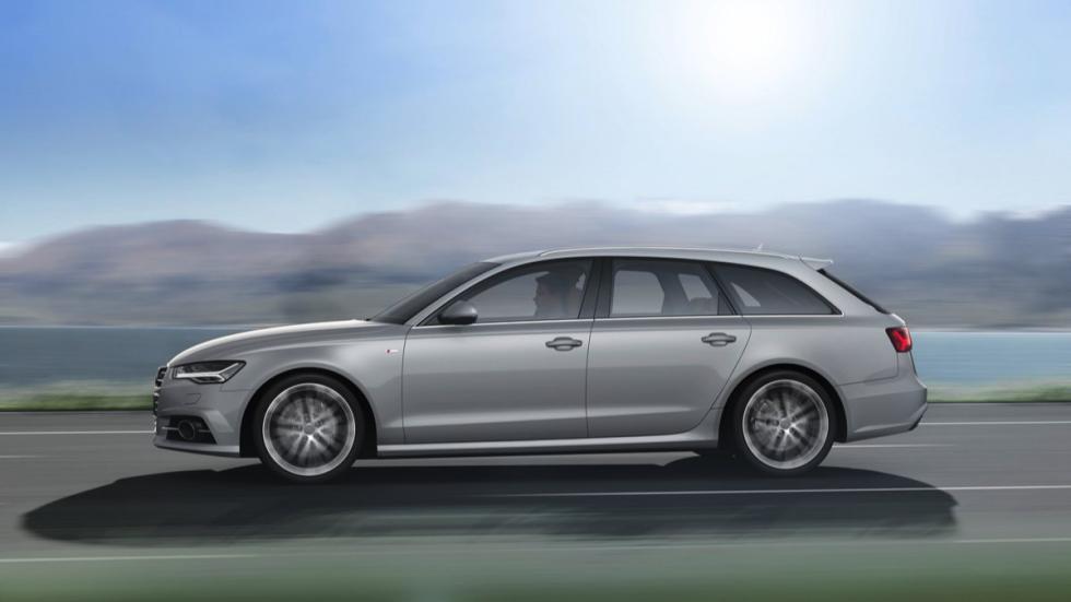 Lateral del Audi A6 Avant 2015