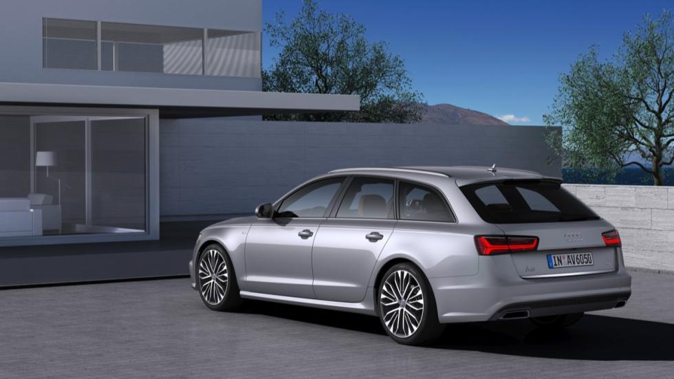 Trasera del Audi A6 Avant 2015