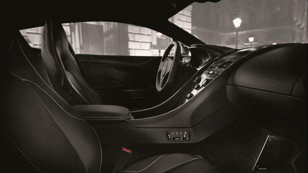 Aston Martin Vanquish Carbon Edition interior