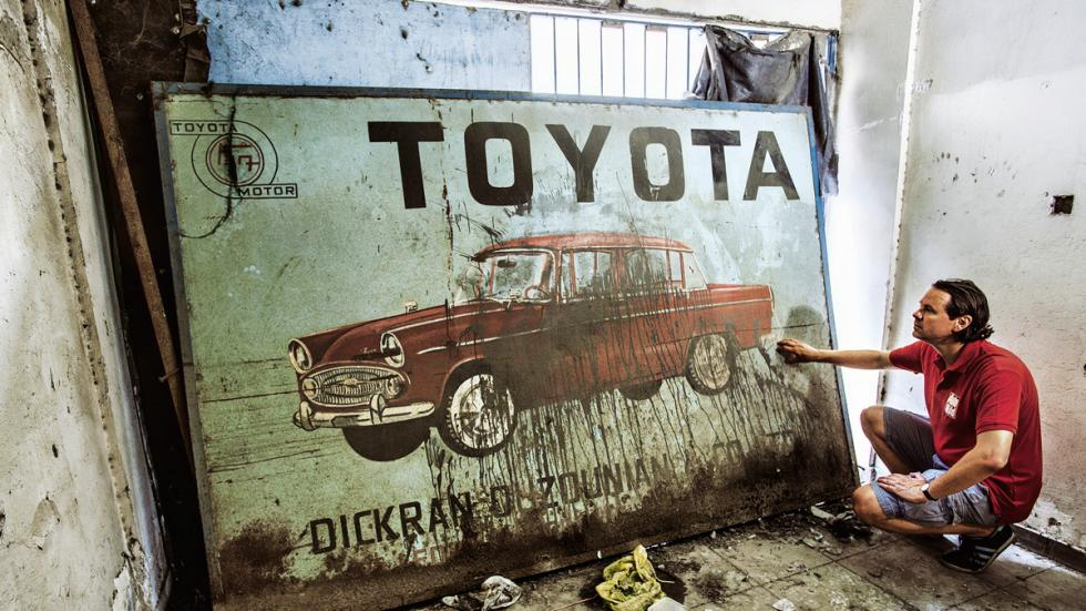 Toyota en Chipre cartel