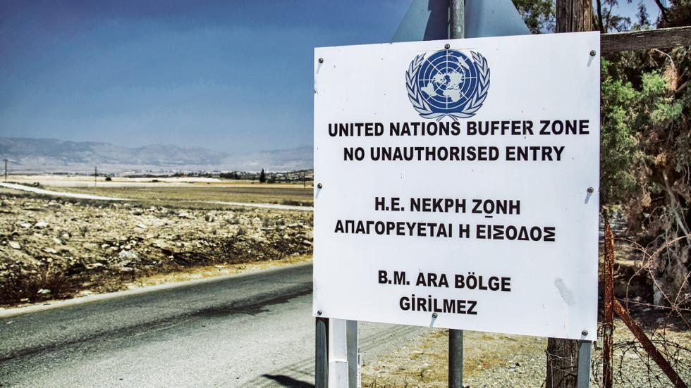Toyota en Chipre zona militar