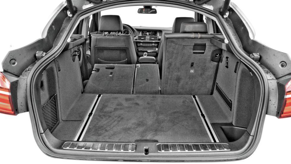 BMW-X4 maletero