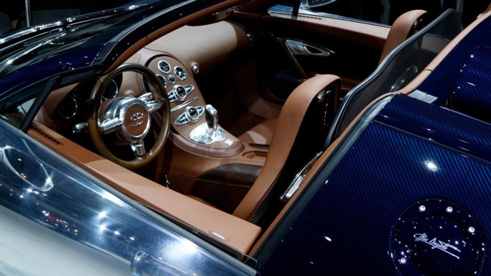 Bugatti Veyron Grand Sport Vitesse Ettore Bugatti interior