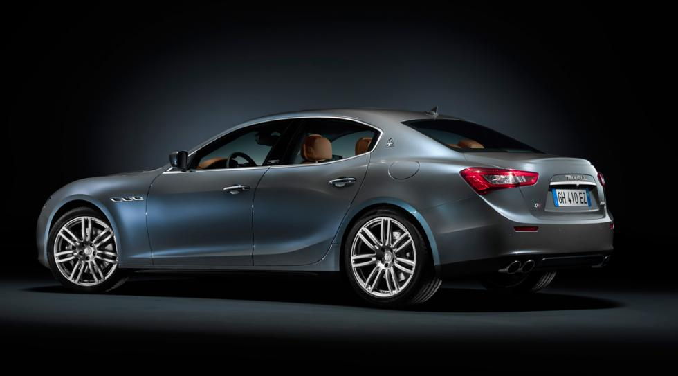 Maserati Ghibli Ermenegildo Zegna Edition tres cuartos