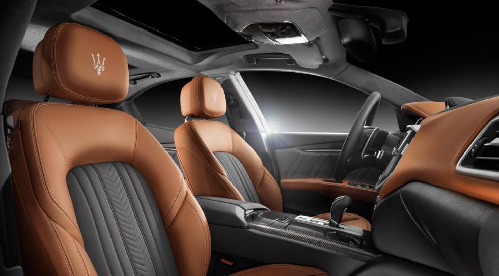 Maserati Ghibli Ermenegildo Zegna Edition tapicería