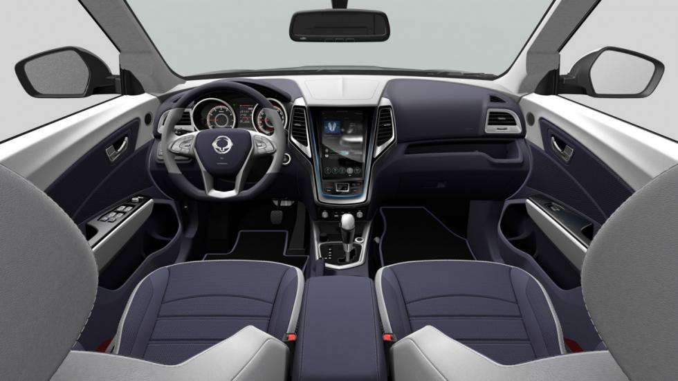 Interior del SsangYong XIV-Air
