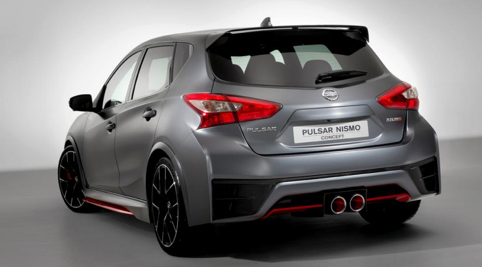 Nissan Pulsar Nismo Concept trasera