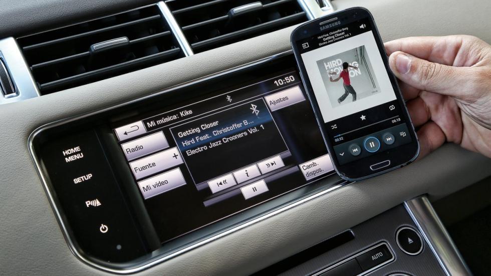 conectividad Range Rover Sport